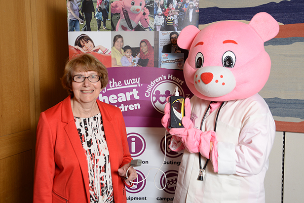 Annette at a recent event in Parliament to highlight the issue