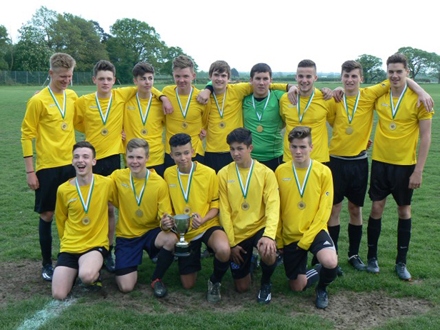 Ferndown Upper School Under 16 football team