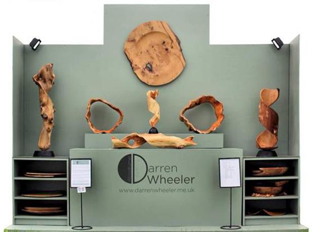 Darren Wheeler wood turnings