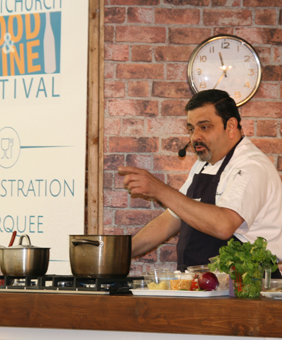 Indian chef Cyrus Todiwala
