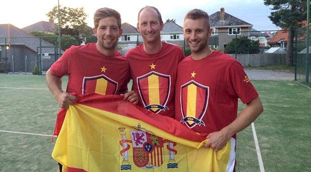Charity World Cup Spanish Team