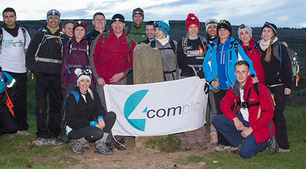 4Forty charity walk team