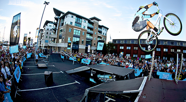Animal Action Sports Tour on Poole Quay
