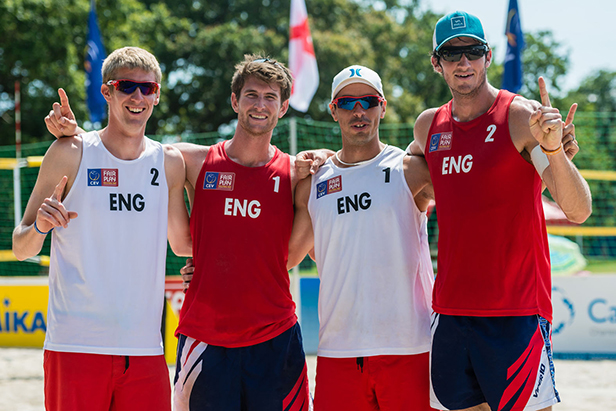 Philip Smith (Wt2)(ENG), Jake Sheaf (Rd1)(ENG), Gregg Weaver (Wt1)(ENG) & Chris Gregory (Rd2)(ENG