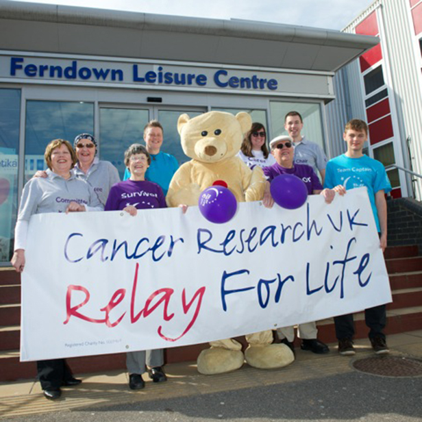 Bournemouth Relay For Life 2014 launch