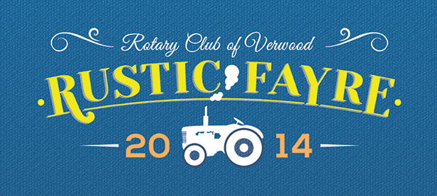 Rotary Rustic Fayre banner
