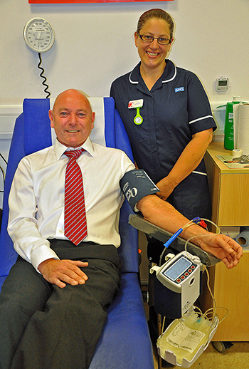 Blood Donation by Princecroft Willis member of staff