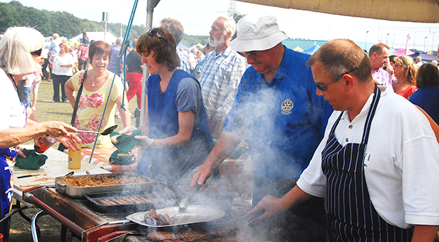 Rotary barbecue