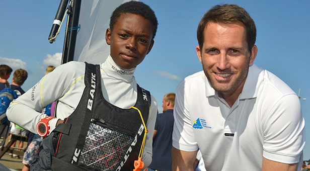 Sir Ben Ainslie inspiring the next generation at WPNSA
