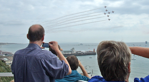 Bournemouth Air Show: Red Arrows