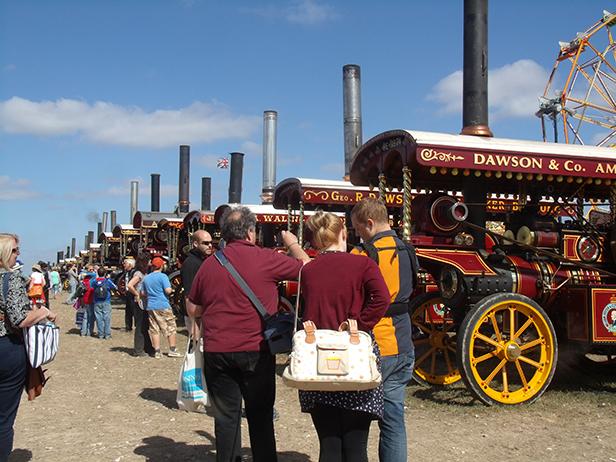 Steam Engines at the Dorset Steam Fair