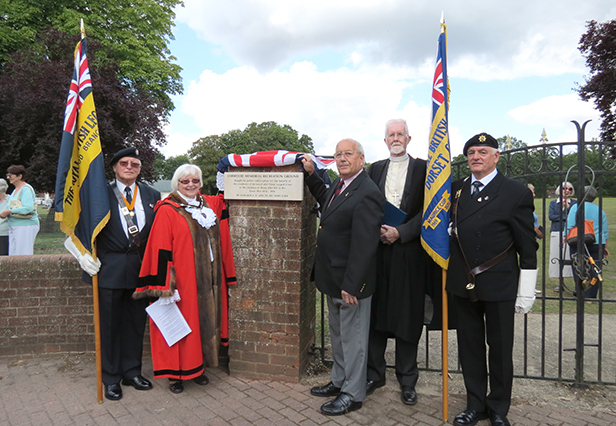 WW1 memorial Verwood