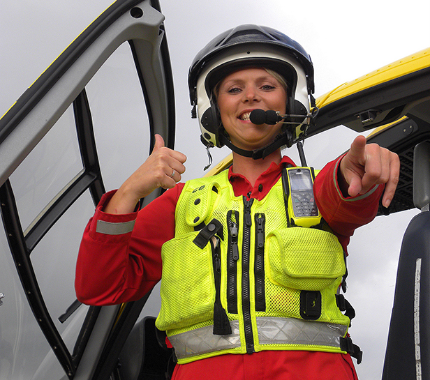 Paramedic Claire Baker