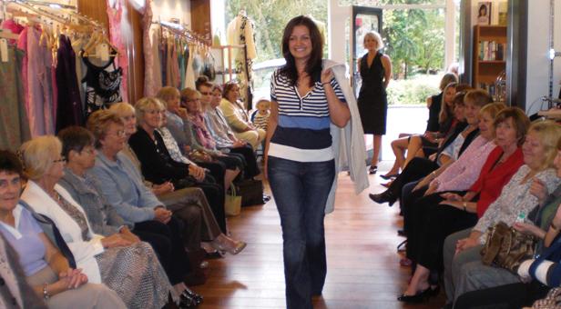 Charity fashion show Canford Magna