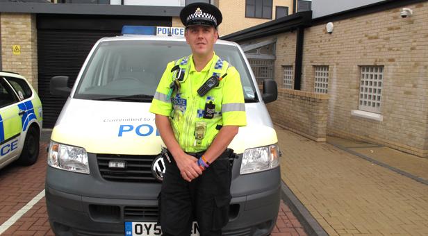 Police patrols Dorset