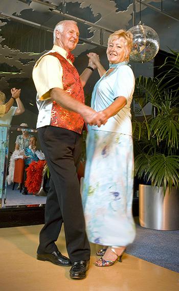 Tea dance couple