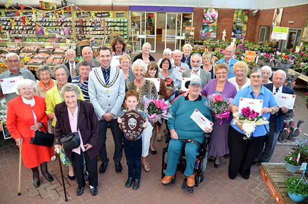 Ferndown In Bloom Winners