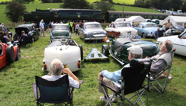 Classic transport rally