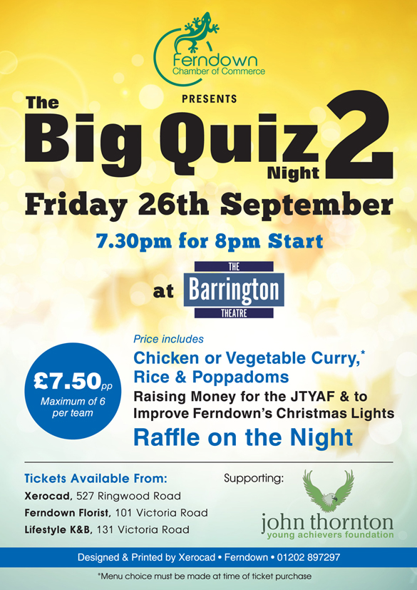 The Big Quiz 2, Ferndown