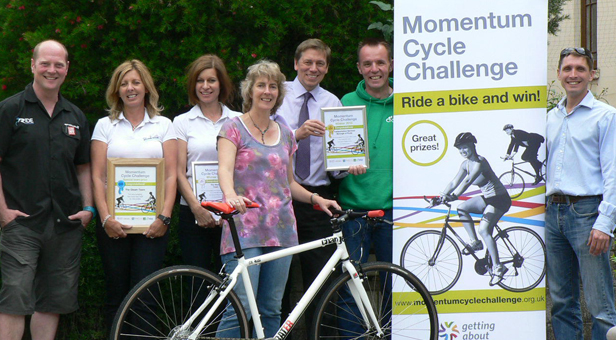 Winners of the Momentum Cycle Challenge 2013