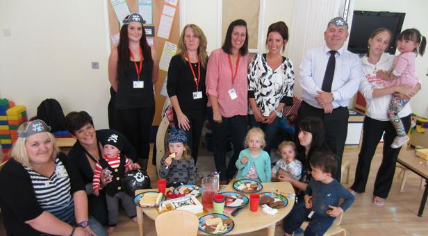 Dorset PCC meets families at Westham Children's Centre