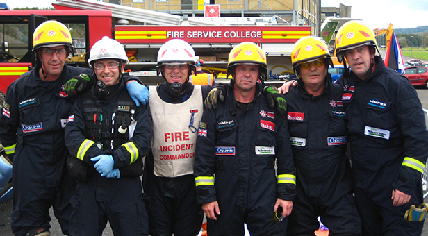 The Hampshire extrication team