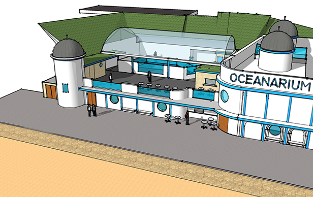 Oceanarium Extension Drawing