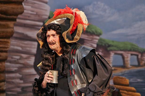Ian Metcalfe as The Pirate King