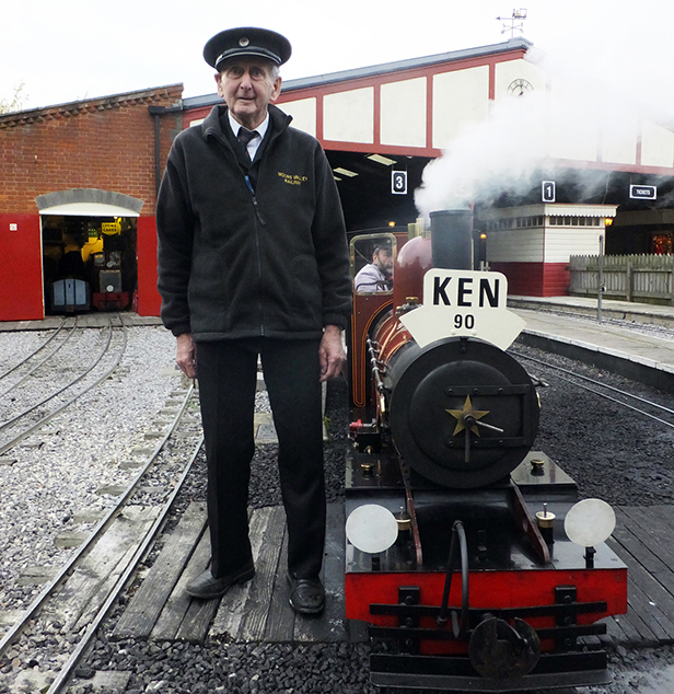 Ken Clay celebrates 90th birthday