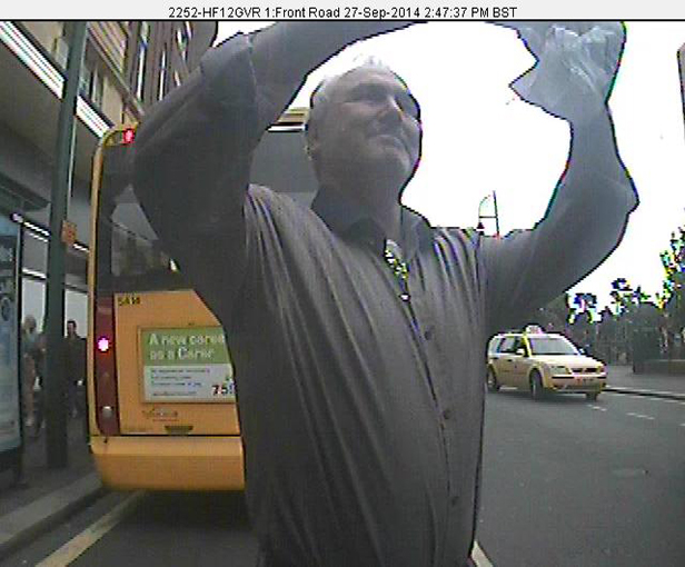 CCTV image of the man police would like to talk to