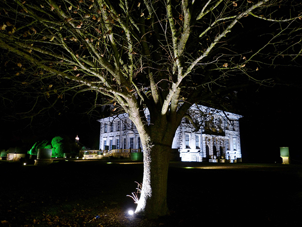 Kingston Lacy Illuminated Christmas lights 2014