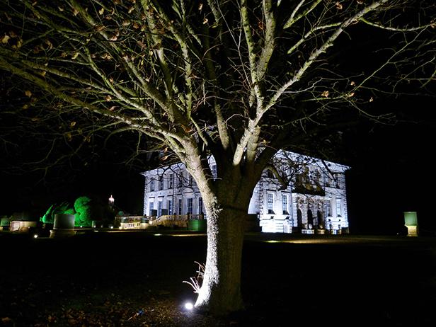 Kingston Lacy Illuminated Christmas lights 2014