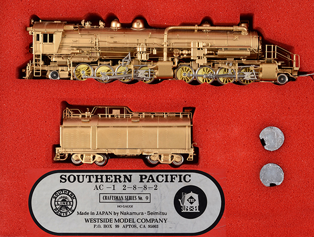 Japanese Brass Locomotive Southern Pacific £490