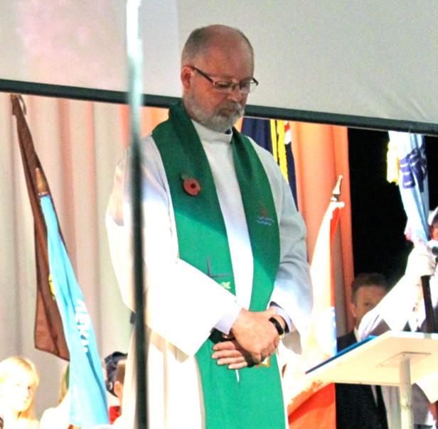 The Rev'd Adrian Thomas