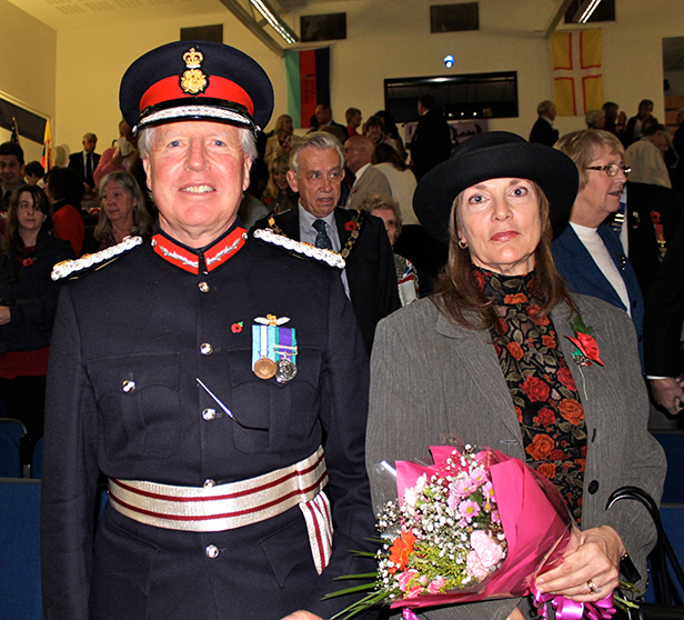Lord-Lieutenant for Dorset Angus Campbell with his wife Carola