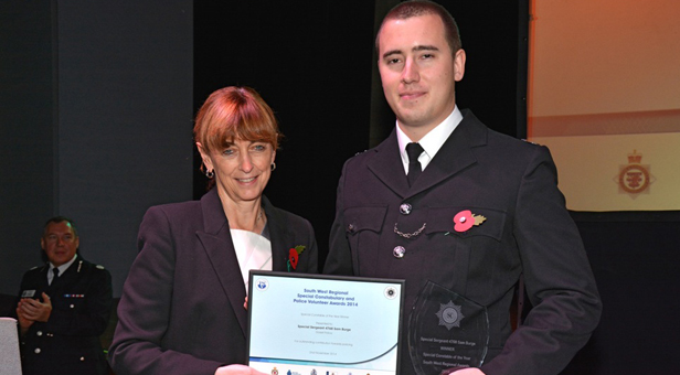 Special Constable of the Year, Sergeant Sam Burge