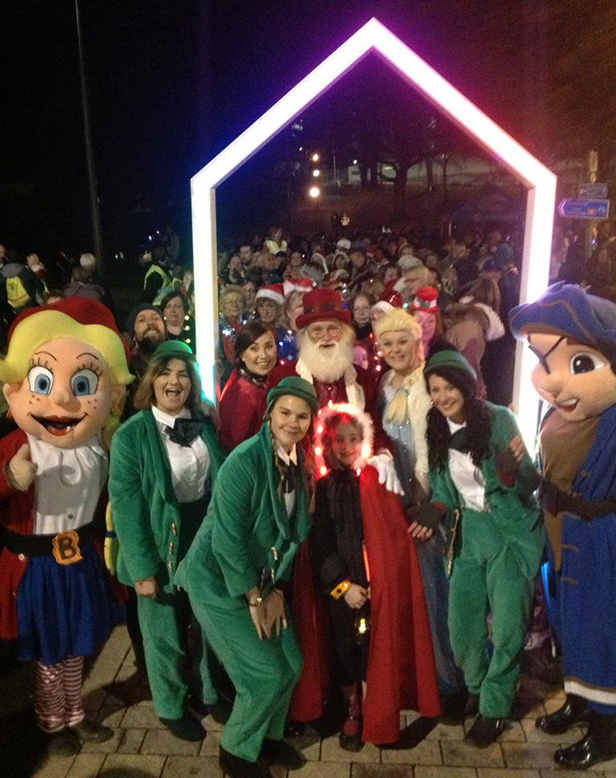 Bournemouth Christmas Lights Launch procession