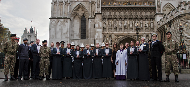 Military Voices at Westminster Abbey