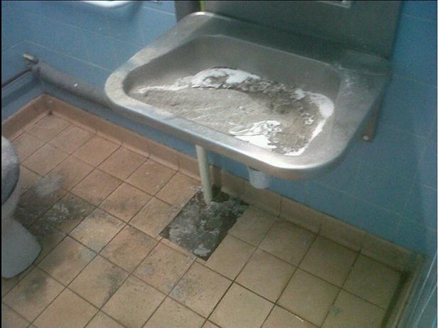 Baiter Park hand washing unit