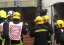 Lymington plaice goes up in flames
