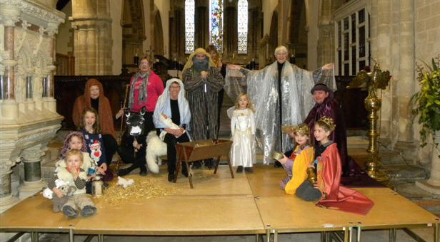 Wimborne Minster Nativity Play