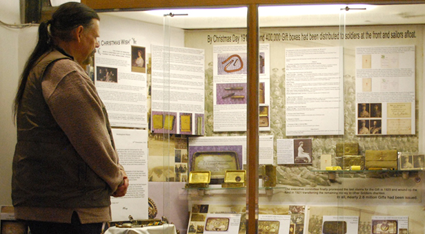Priest's House Museum display