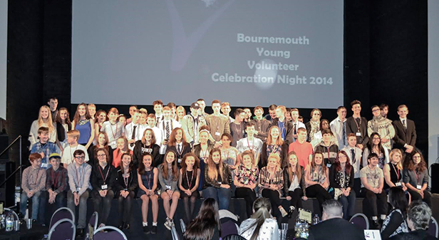 Bournemouth young volunteers