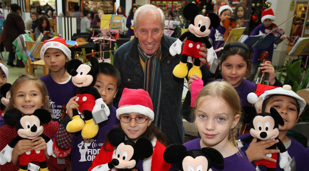 Mickey Mouse finds his 'forever home' with a pupil at Beaucroft Foundation School