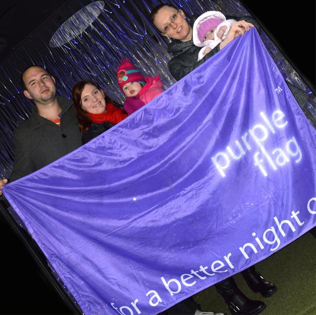Purple-Flag-post