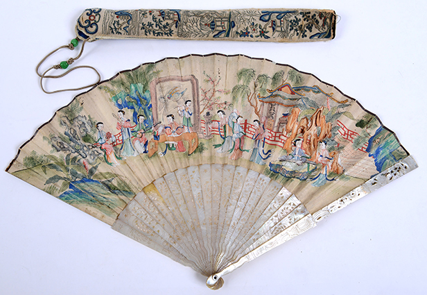 18th Century Chinese fan