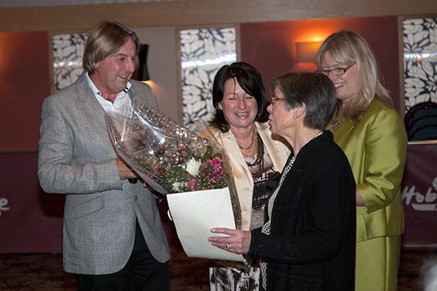 Betty Cook, Ashley Heath 20 year award