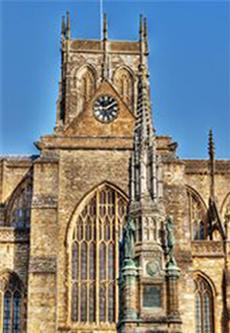 Does Sherborne's historic Abbey hold hidden secrets? Photo courtesy of Jim Johnson