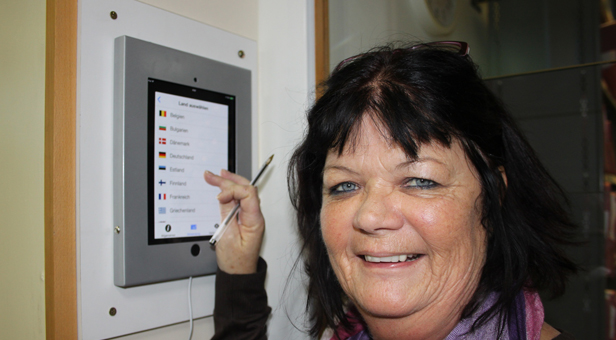 Services Development and Coding Manager Jane Ennis suggested the iPad to make Emergency Department visits easier for patients from the EEA