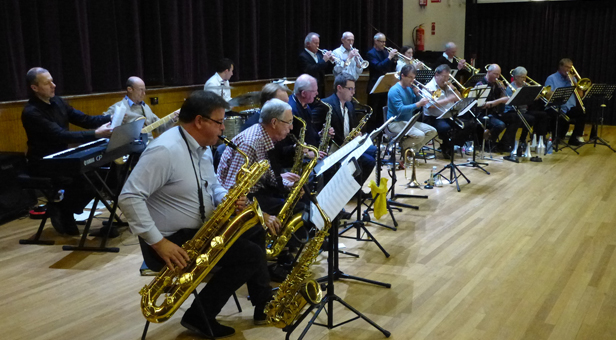 Bournemouth Jazz Orchestra's concerts raised more than £5,000 for good causes last year.